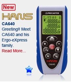 Laserový dálkoměr HANS CA640