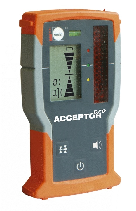 Snímač pro rotační laser - ACCEPTORpro